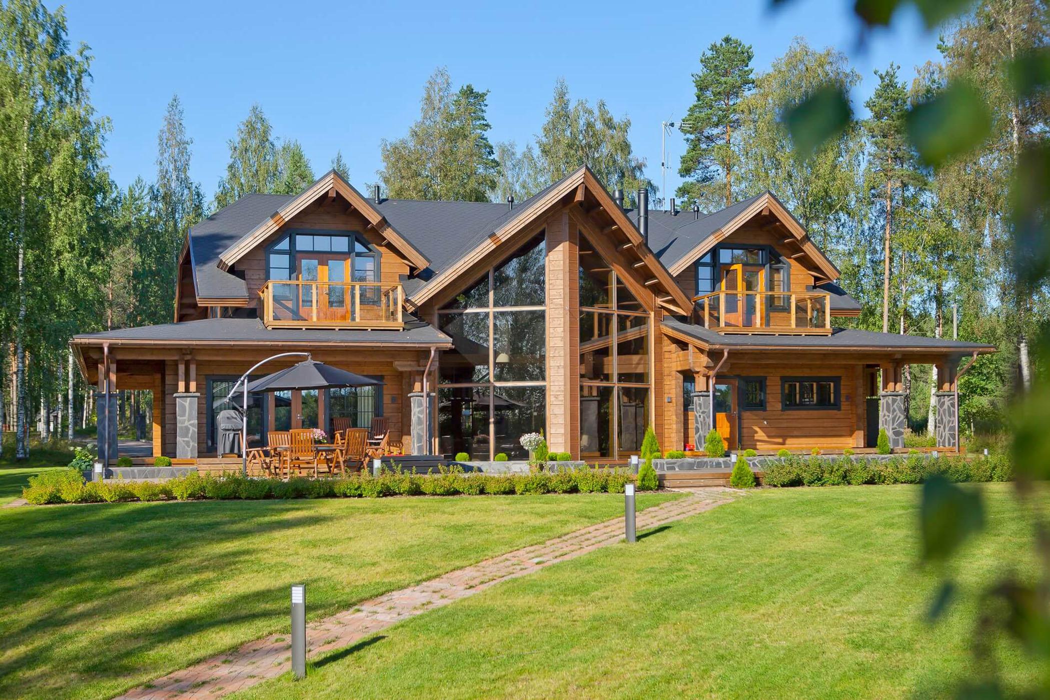 Дома из финского клееного бруса